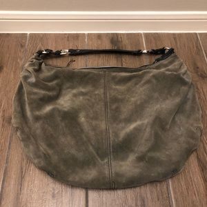Lucky Brand Suede Hobo Purse